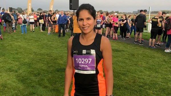 A Home Run for Mental Health Awareness: Wellspring's Sophia England Completes Scottish 2019 10k