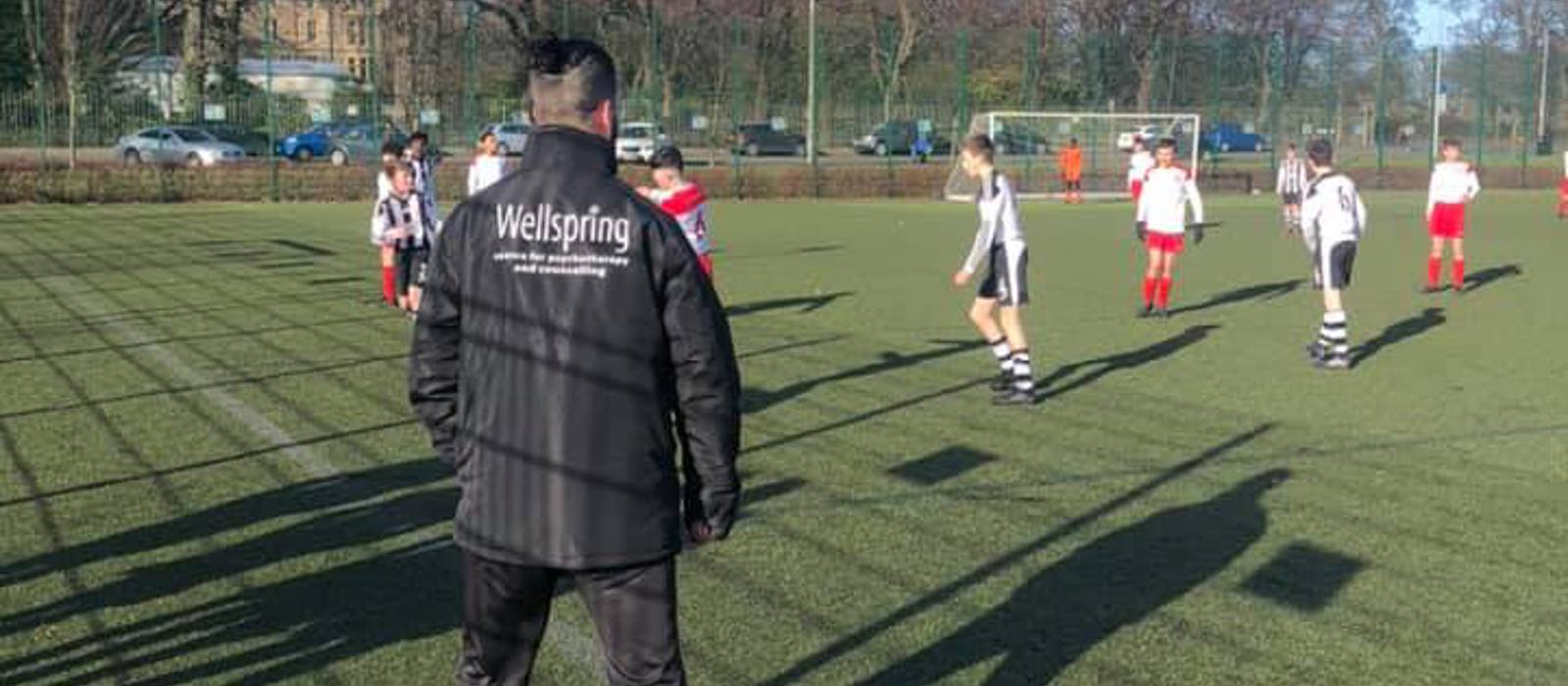It's a Goal! Wellspring and North Merchiston F.C Partner Up to Promote Mental Health